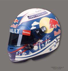 Daniel Ricciardo Helmet design Monaco GP 2015
