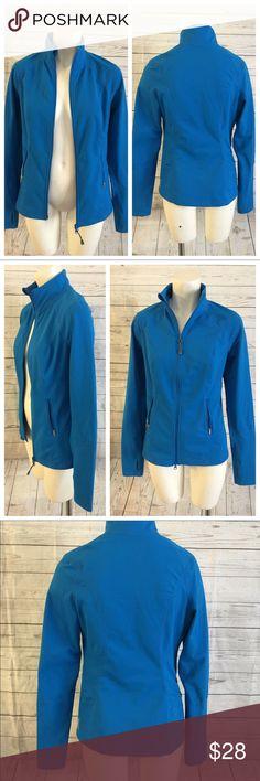 Zella Jacket Zip Up Fitness Small Fitted Zella Jacket Zip Up Fitness Small Fitted. Blue. Pre loved. GreAt. Zella Jackets & Coats