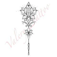 Tattoos - # Mandala Tattoo - # Mandala Tattoo # Tattoo - P . - Tattoos – # mandala tattoo – tattoo – Places to visit – # Mandala tatto - Spine Tattoos, Forearm Tattoos, Finger Tattoos, Body Art Tattoos, Small Tattoos, Sleeve Tattoos, Tattoo Mandala Feminina, Lotus Mandala Tattoo, Mandala Tattoo Design