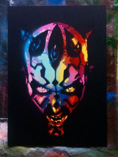 These Stencils Are Rainbows That Lead You To The Dark Side -