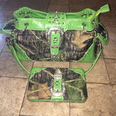 Camo / Country Purse! Awesome purse and wallet!!! Bags Shoulder Bags