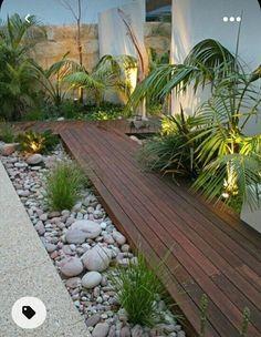 Small Backyard Design, Small Backyard Landscaping, Landscaping With Rocks, Landscaping Tips, Backyard Ideas, Fence Ideas, Backyard Patio, Landscape Plans, Landscape Design