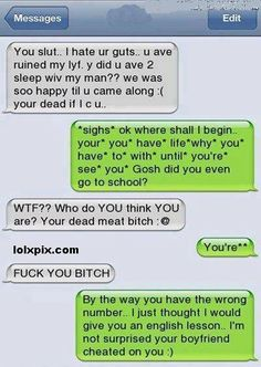 Rude text messages to send your boyfriend
