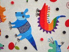 Animales coloridos cosidos a mano de Ivan Semesyuk | No me toques las Helvéticas | Blog sobre diseño gráfico y publicidad