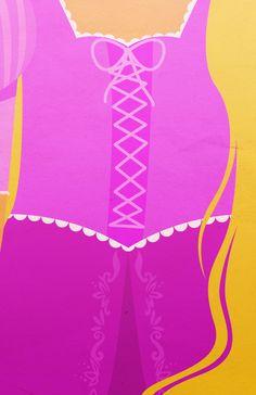 Rapunzel by Petite Tiaras