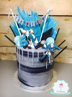 Transformers Drip Cake