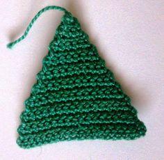 triángulo de crochet