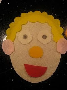 Felt face...cute busy hands activity!