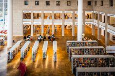 Malmö Library Interior