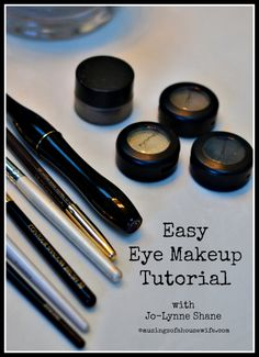 Easy DIY Eye Makeup Tutorial with Jo-Lynne Shane www.musingsofahousewife.com