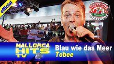"""Tobee mit seinem Sommerhit 2014 """"Blau wie das Meer, voll wie der Strand"""" von den Ballermann Hits 2014. http://mallorcahitstv.de/2014/09/tobee-blau-wie-das-meer-bierkoenig-partyboot/"""