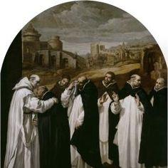 San Bruno se despide en Roma de sus compañeros