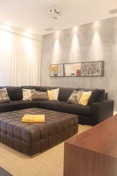 Sala Apto Barra_TZ  Projeto StudioMaz Arquitetura @studiomazarquitetura
