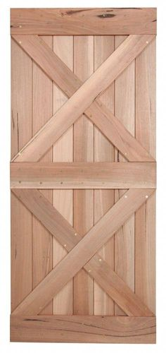 36 Walnut Interior Barn Door Double X front - March 03 2019 at Barn Door In House, Diy Barn Door, Farm Door, Sliding Door Hardware, Sliding Doors, Entry Doors, Wood Doors, Front Doors, Panel Doors