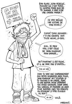 Marsault 3 American Psycho, Paper Crafts Origami, Bd Comics, Lol, Humor, Memes, Funny, Phrases, Internet