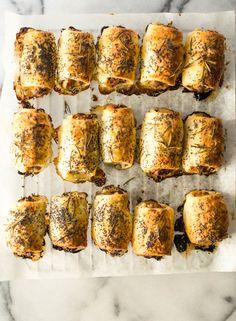 Leek and Rosemary Pork Sausage Rolls