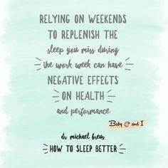 Quotes On Importance Of Sleep