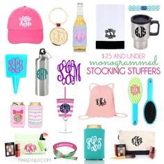 Marley Lilly Gift Guide: Stocking Stuffers that are $25 and under