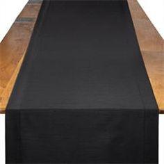 Black Shantung   BBJ Linen