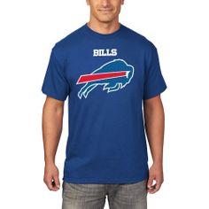 Men's Buffalo Bills Majestic Royal Critical Victory T-Shirt
