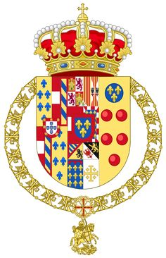 Coat of arms of Pedro of Bourbon-Two Sicilies (Spanish Heraldry).svg