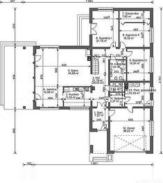 Projekt domu Lemko Termo 187,63 m2 - koszt budowy - EXTRADOM Village House Design, Village Houses, House Plans Mansion, Home Technology, Montage, Planer, My House, Architecture Design, New Homes