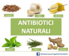 Un aiuto in più: antibiotici #naturali!!! #salute #benessere #alimenti #nutrizione #mangiaresano
