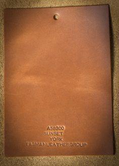 Sunset York, a product of Tasman Leather Group. #TasmanLeatherGroup #TasmanUSA