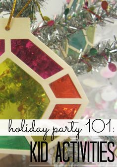 Holiday Party Kid Activities