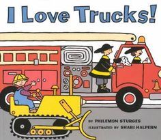 A child names fifteen of his favorite trucks and the special jobs they perform, from trucks that dump and trucks that dig to trucks that gobble trash and trucks that fight fires. Reprint.