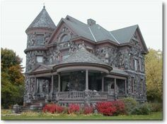 Victorian and stone, great combo!