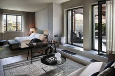 Penthouse Master Bedroom at Mandarin Oriental, Barcelona