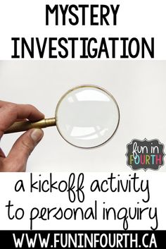 A kickoff activity to personal inquiry (Genius Hour, Passion Project, etc) Give students understanding of what it means to inquire and experience. Good for all students and use later to adapt lessons for GT. Elementary Education Activities, School Resources, Science Activities, Classroom Activities, Classroom Ideas, Ks2 Classroom, History Education, Teaching History, Classroom Inspiration