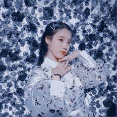 Blue Aesthetic, Kpop Aesthetic, Iu Hair, Luscious Hair, Ulzzang Korean Girl, Girl Themes, Fandom, Digital Art Girl, Pretty Photos