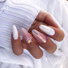 Classy Nails, Simple Nails, Dope Nails, Swag Nails, Almond Nails Designs, Nail Designs, Gorgeous Nails, Pretty Nails, Manicures