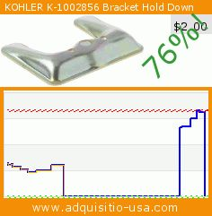 KOHLER K-1002856 Bracket Hold Down (Tools & Home Improvement). Drop 76%! Current price $2.00, the previous price was $8.48. https://www.adquisitio-usa.com/kohler/1002856-bracket-hold-down