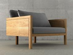 Etel Interiores S�o Conrado Armchair 3d model   Claudia Moreira Salles