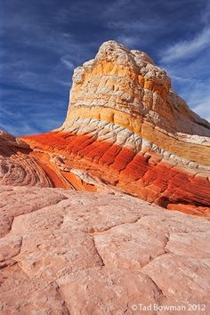 Lollipop Rock, White Pocket, Arizona; photo by Tad Bowman
