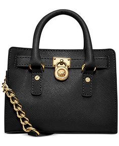7fca0ceac948 MICHAEL Michael Kors Hamilton Mini Messenger Bag & Reviews - Handbags &  Accessories - Macy's