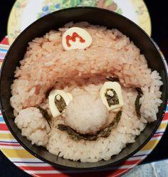 A Mario Bento for my boy....