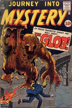 Journey into Mystery. the Glob. #JourneyIntoMystery #Monsters