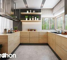 Aranżacje wnętrz - Kuchnia: Dom pod jarząbem 17 (N) - ARCHONhome. Przeglądaj, dodawaj i zapisuj najlepsze zdjęcia, pomysły i inspiracje designerskie. W bazie mamy już prawie milion fotografii!