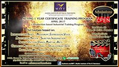 MIFT #ADMISSION OPEN / ACTING 1 YEAR CERTIFICATE TRAINING PROGRAM  ( Production Based Training Program ) Contact us :  7581024036/8827686605