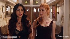 """S1 Ep5 """"Moo Shu to Go"""" - We love these two!  #Shadowhunters"""
