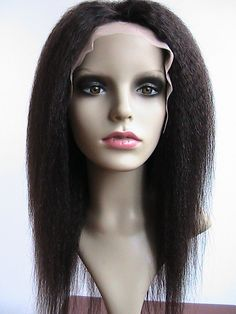 Find More Wigs Information about Fashion popular high quality human hair color #2 kinky straight 18inch lace wig (FREE SHIPPING),High Quality lace wigs free shipping,China lace human hair wig Suppliers, Cheap hair lace wig from Qingdao Li Beier Hair Products Co., Ltd.