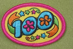 Girl Scouts 100th Anniversary pin patch for cookie sales. If this is not a 100th, could someone let me know?