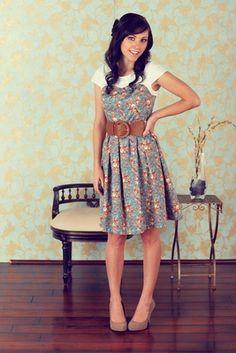 """""""Daisy"""" Modest Dress"""