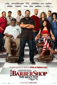 Barbershop The Next Cut- This my favorite movie because it is really really funny.