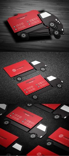 36 Modern Business Cards Examples for Inspiration - Graphic Templates Search Engine