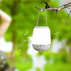 Fashion Multifunctional Portable Bluetooth Speakers Desktop Decoration Night Lamp